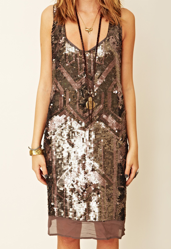 Empire State Tank Dress by Gold Hawk