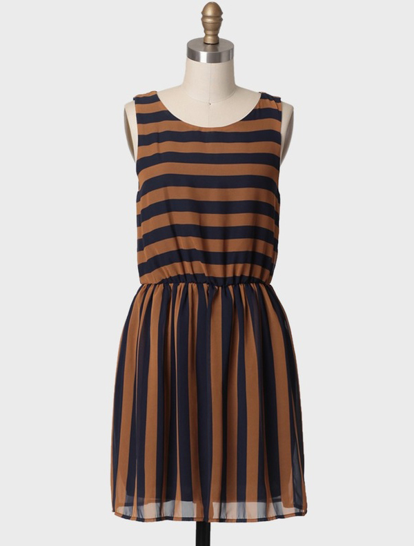 Second Chance Striped Dress from Ruche
