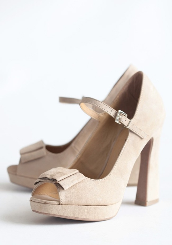 Vienna Waits Open Toe Heels from Ruche