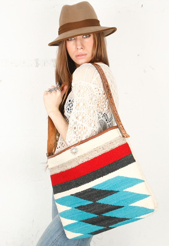Serape bag by Totem