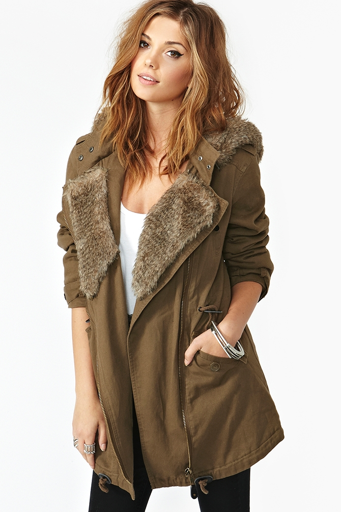 Army Anorak by Nasty Gal