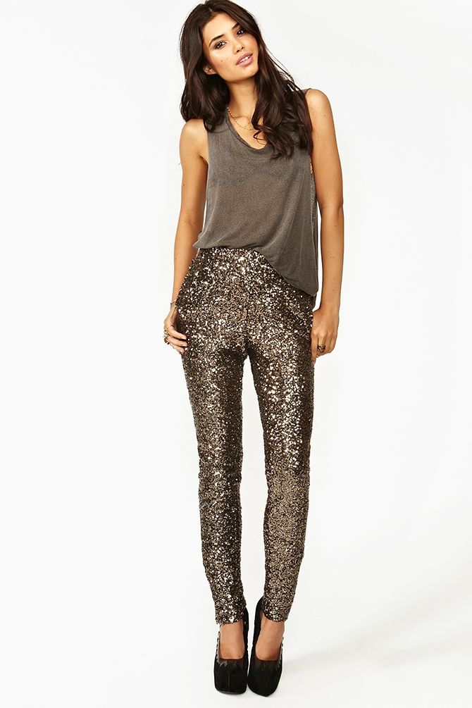 Underwater Sequin Pant