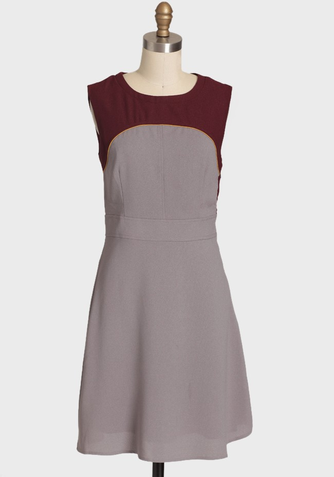 Adorned With Love Colorblocked Dress from Ruche