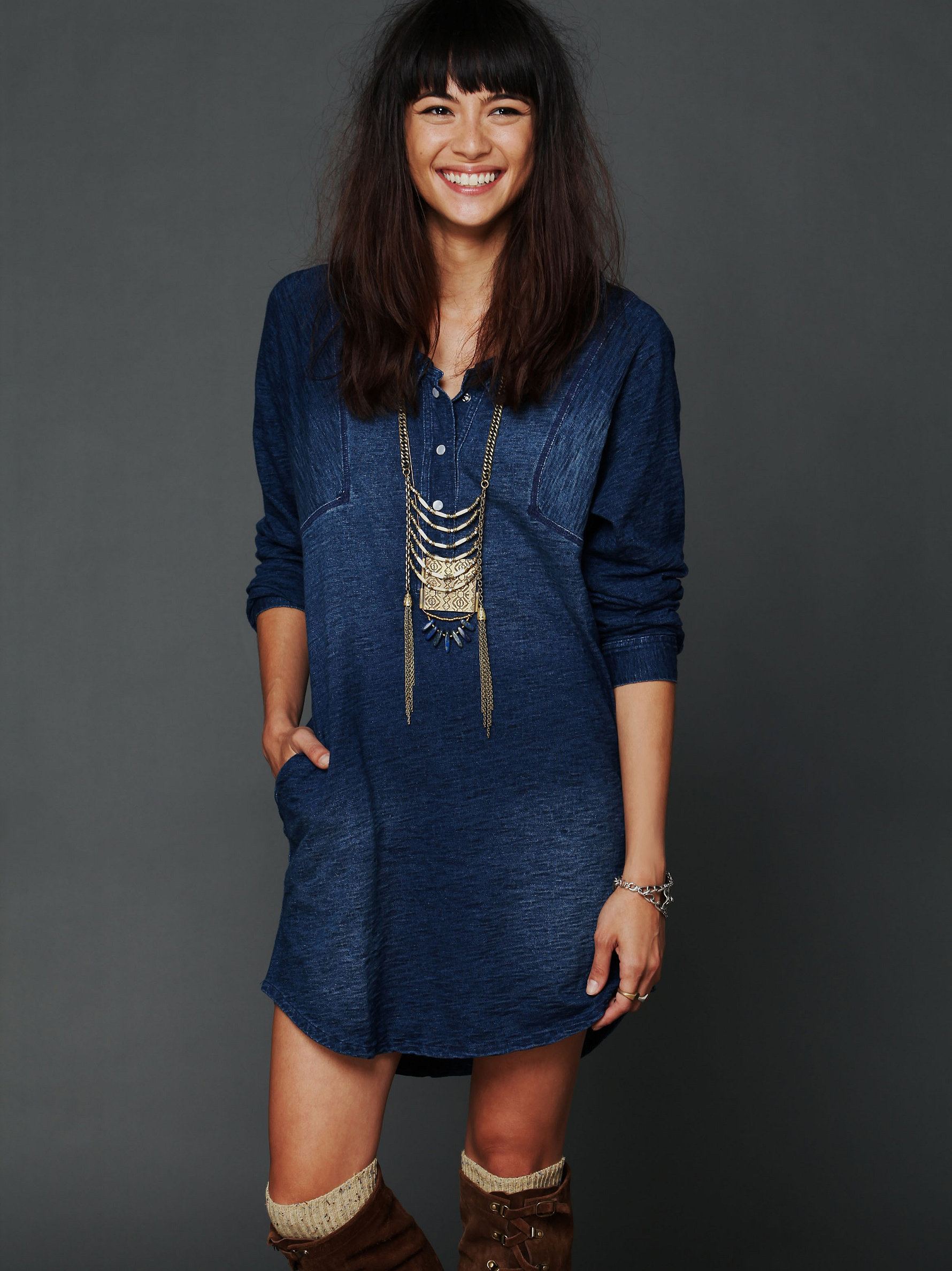 Konstantine Knit Dress by Free People