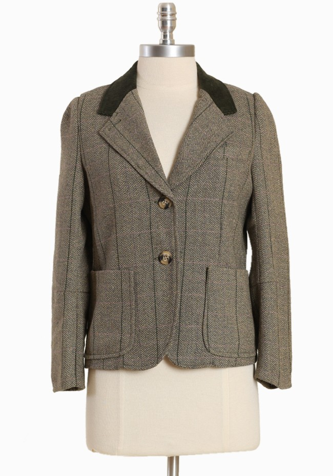 Charlie Tweed Blazer by Dear Creatures