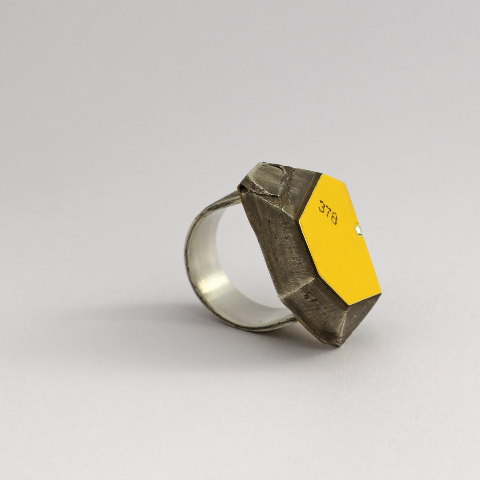 'Ken Lee ring' 2011 by Vanessa Arthur