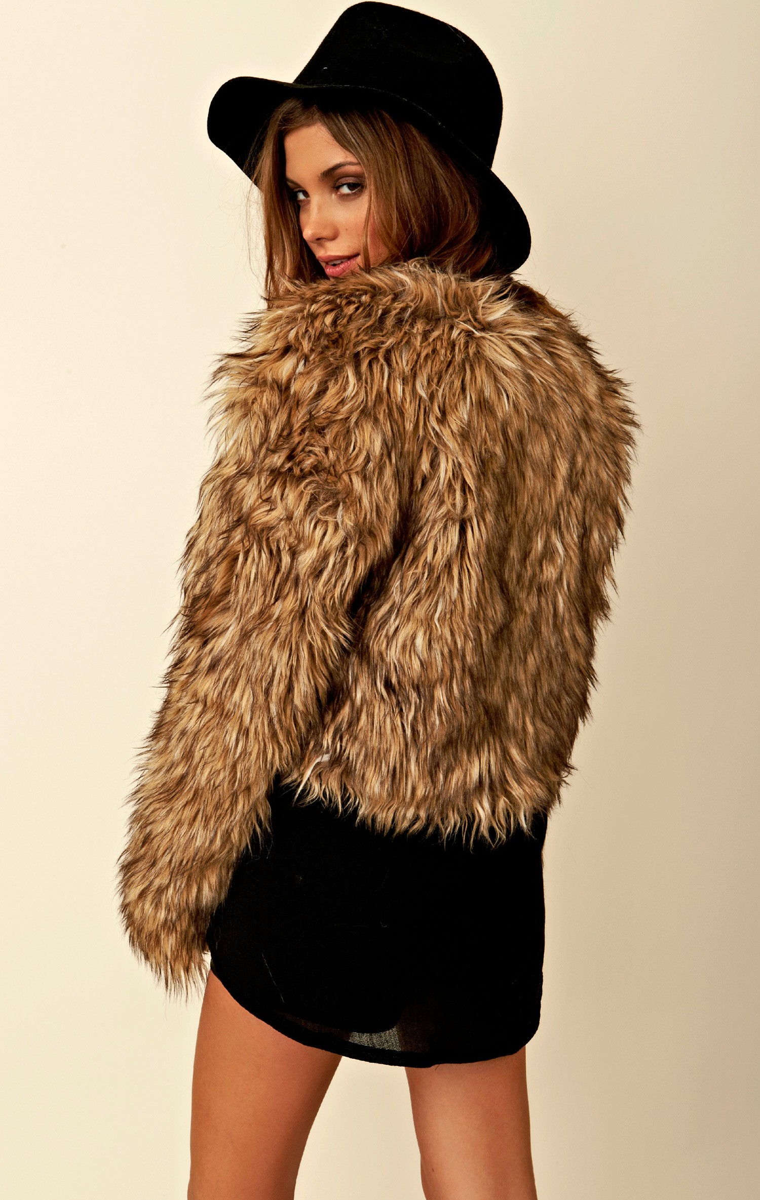 Pele Faux Fur Jacket by BB Dakota