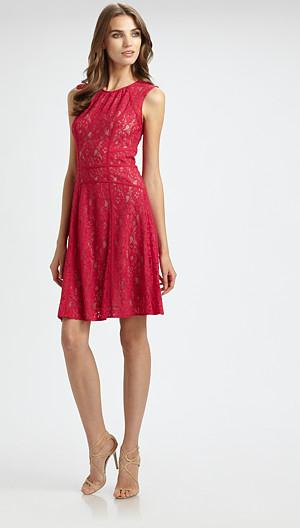BCBGMAXAZRIA Lace Dress