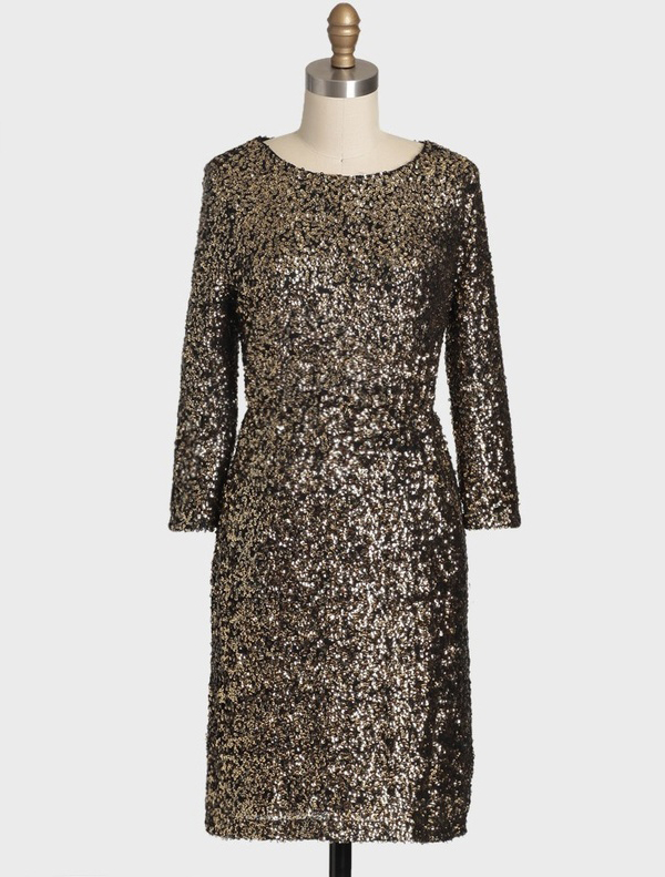 Stunning Mademoiselle Sequined Dress by MM Couture