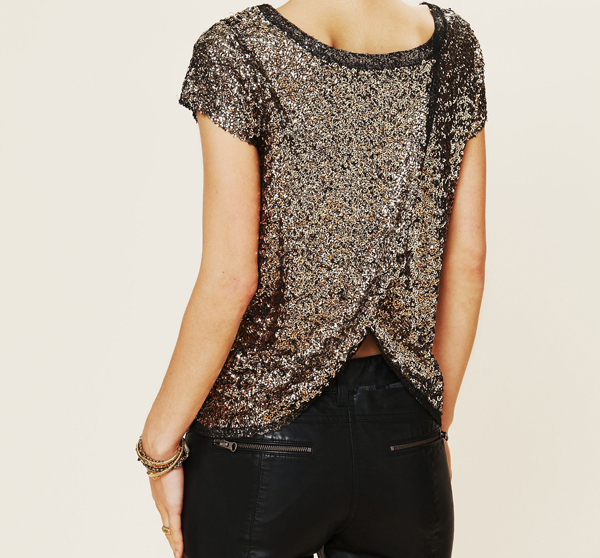 Sparkle Sand Dunes Tee by Free People