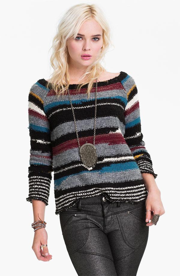 Free People 'Montmartre' Stripe Sweater