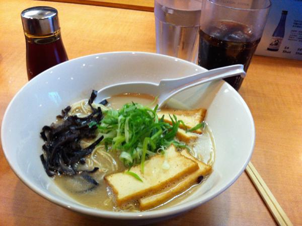"""""""Old Skool"""" Ramen at Tatsu Ramen"""