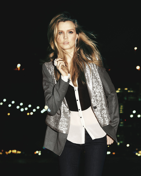 Rex Sequined Blazer by Elizabeth and James