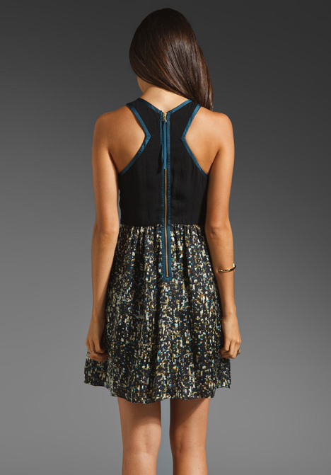 Silk and Sequin Dress by Rebecca Taylor