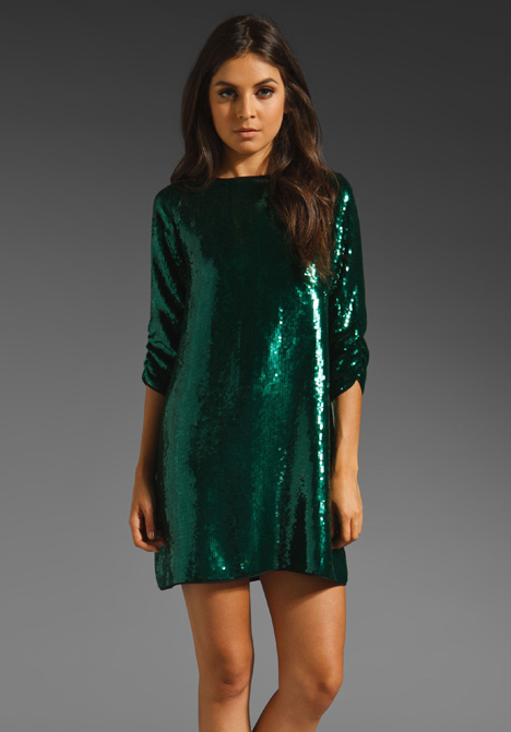 Sequin Tara Dress by Shoshanna
