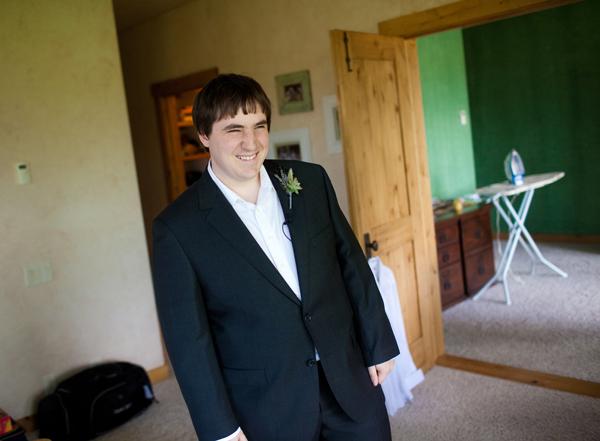 the groom's all ready