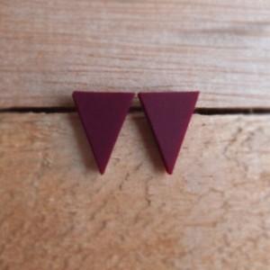Triangle Studs by FruitLoop Jewellery
