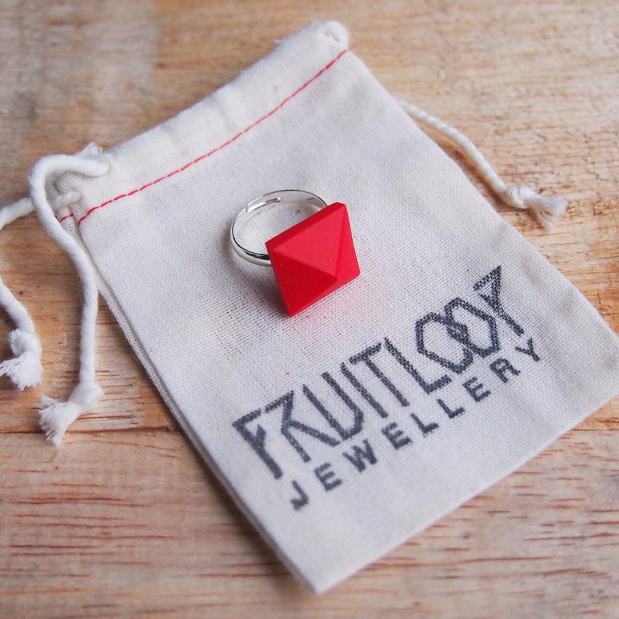 Geo Pop Ring by Fruitloop Jewellery