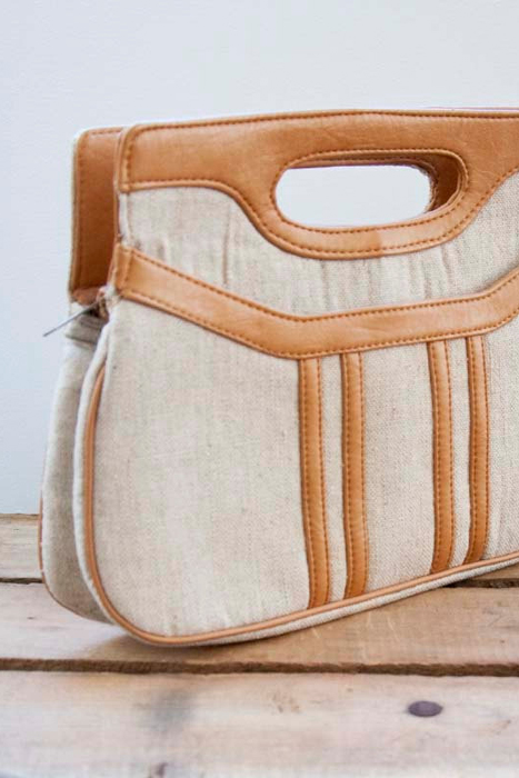 70s Canvas Vegan Vintage Bag from Heirra Vintage