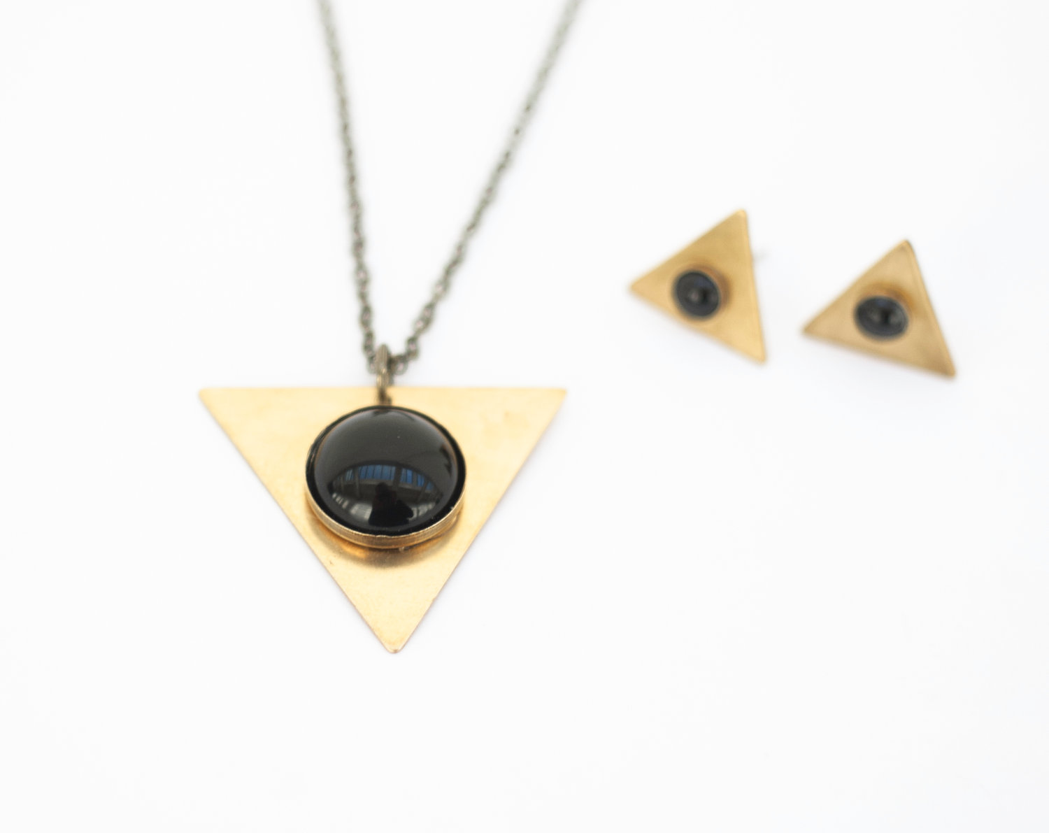 Pyramid Earrings by Still With You
