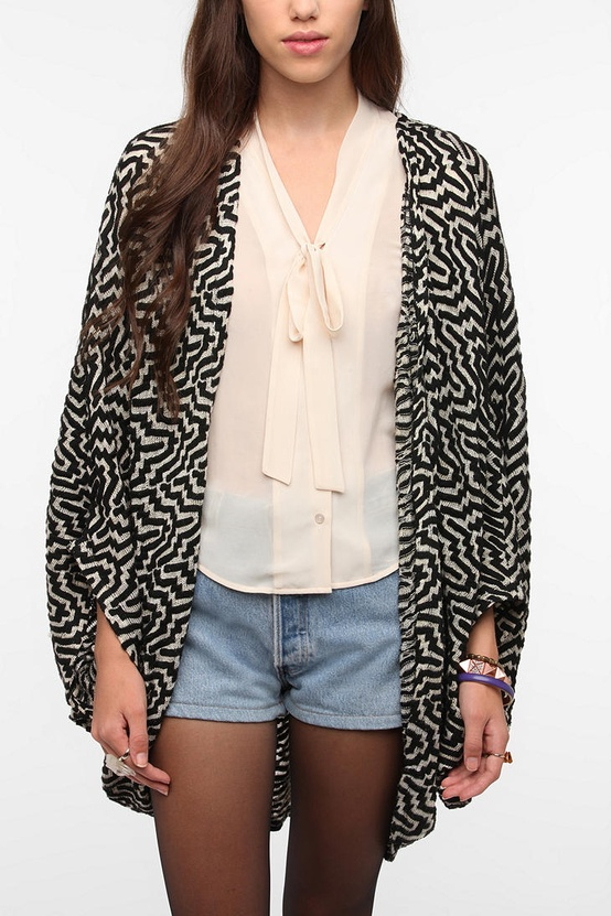 Ladakh Jive Cocoon Cardigan from Urban Outfitters