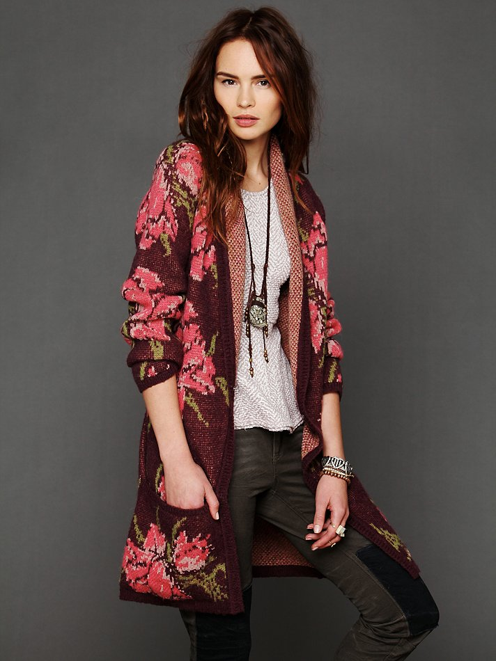 Flower Cardigan from Free People