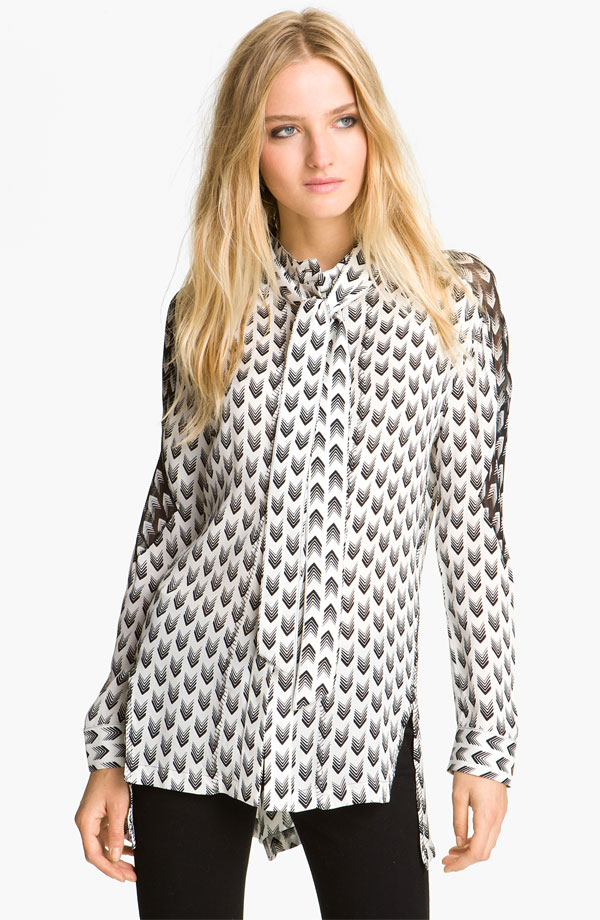 rag & bone 'Gayatri Arrow' Print Shirt