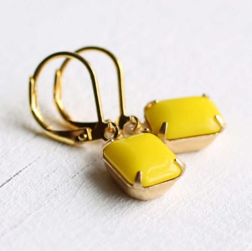 Vintage earrings from Silk Purse, Sow's Ear