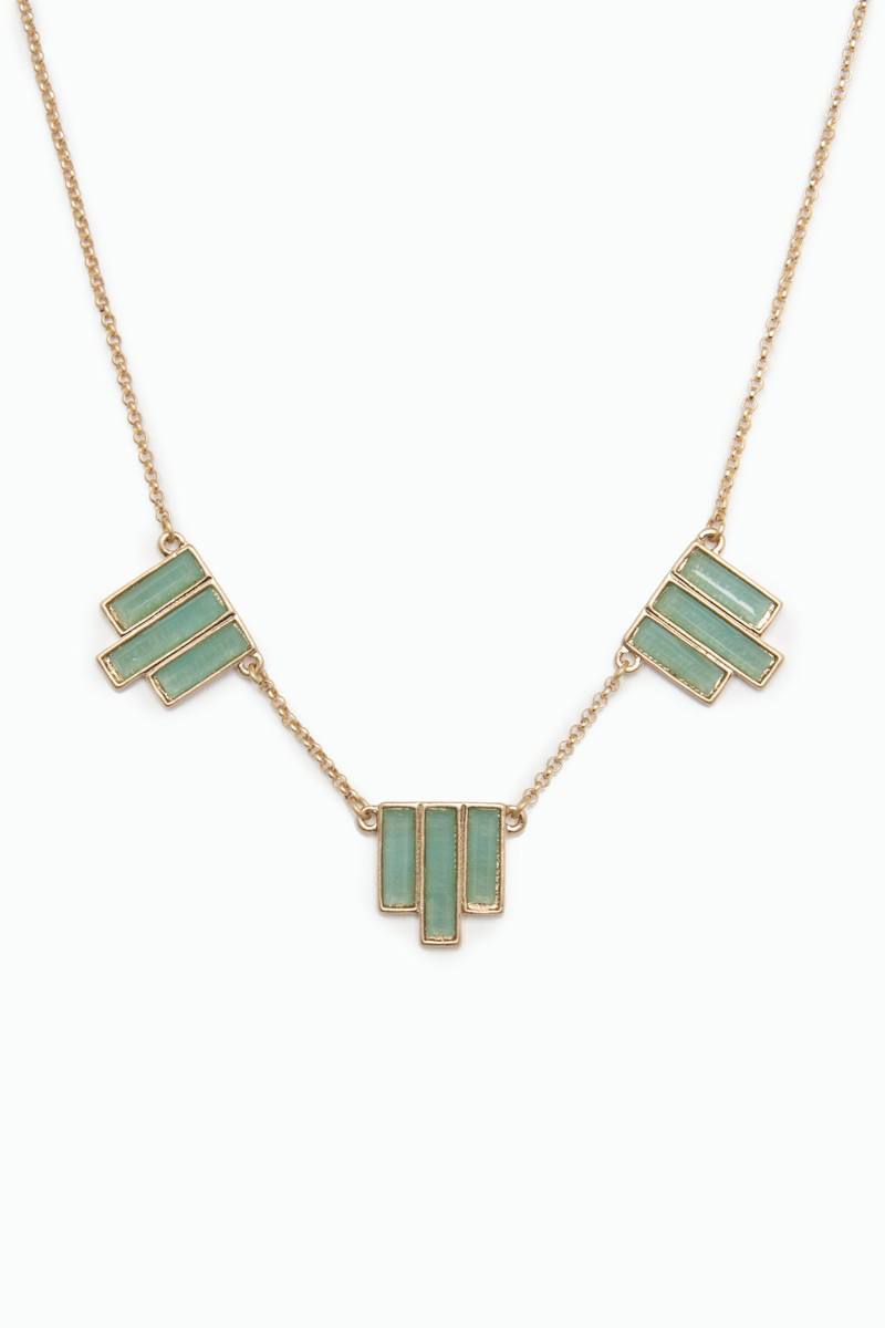 Mint Deco necklace from Sosie