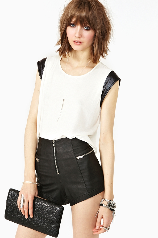 Delicate Darkness Tee by Nasty Gal